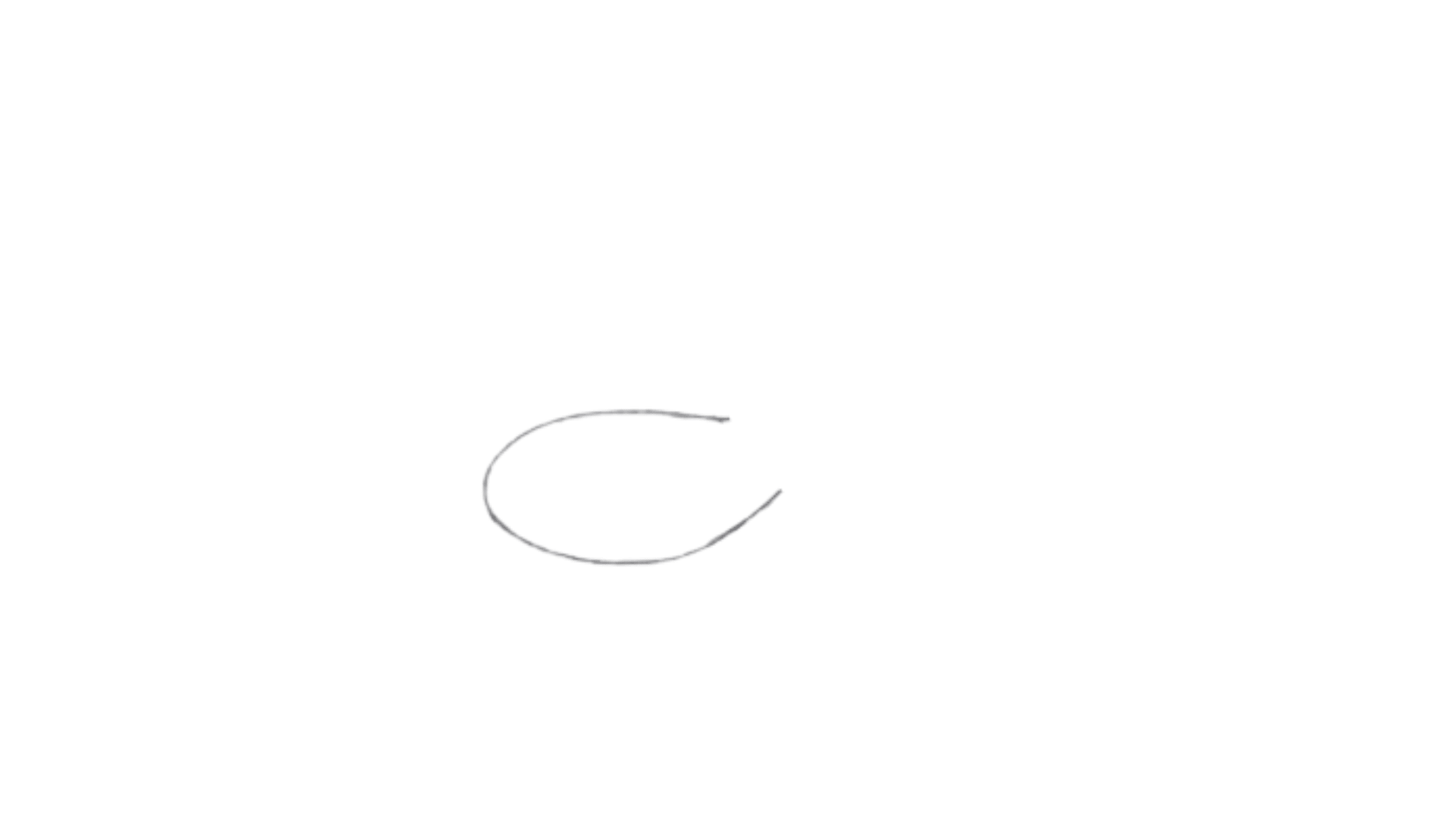 How To Draw Spoon Step 1