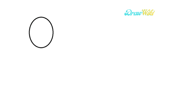 Circular Chain Drawing step 1