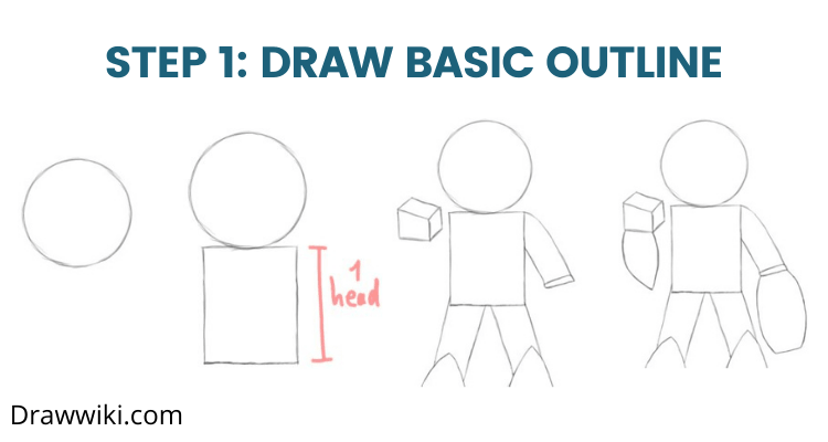 Step 1: Draw Basic Outline