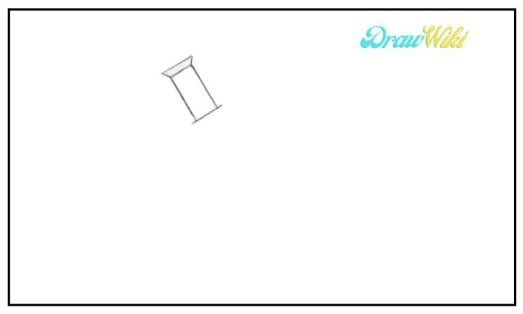 draw a microscope step 1