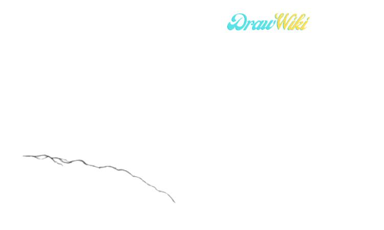 How To Draw Golden Gate Bridge Step 1