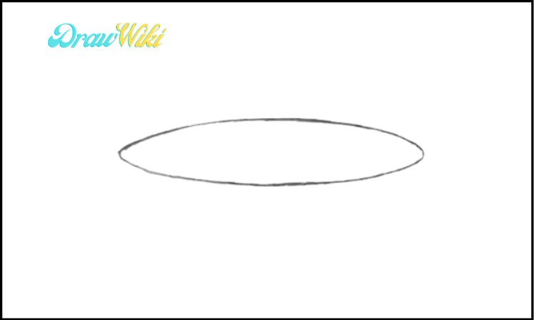 How To Draw a Plate step 1