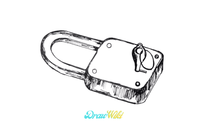 How To Draw A Lock