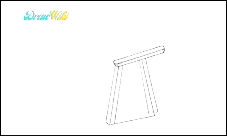 How to Draw a Couch Step 2