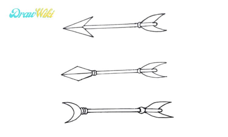 How to Draw an Arrow step 7
