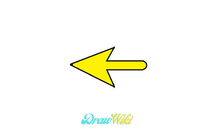 pointing Arrow drawing step 8