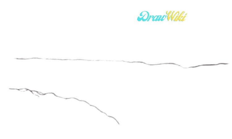 How To Draw Golden Gate Bridge Step 2