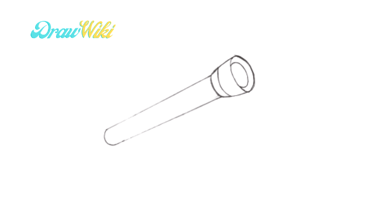 How to draw a telescope step 2