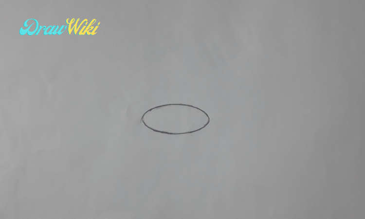 How to draw a flower with pot step 1