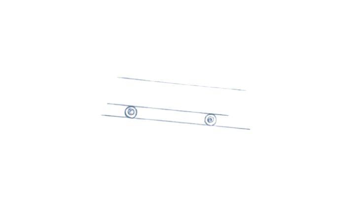 How to Draw a Skateboard step 2