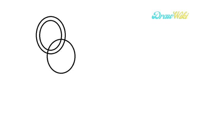 Circular Chain Drawing step 3