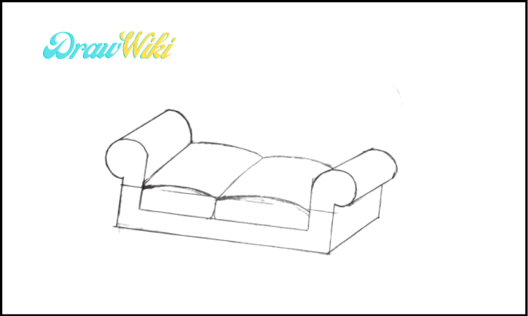 3rd Design Couch Drawing step 3