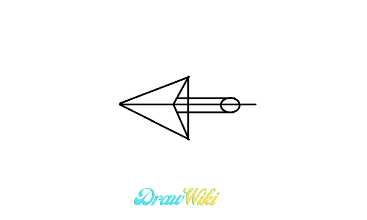 pointing Arrow drawing step 6