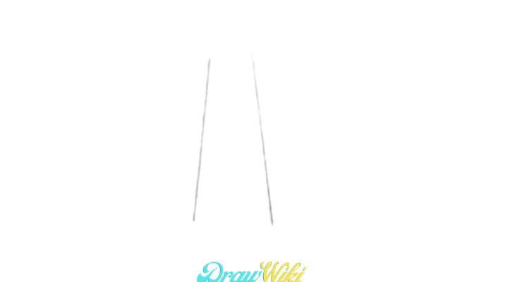 How To Draw a Windmill Step 2