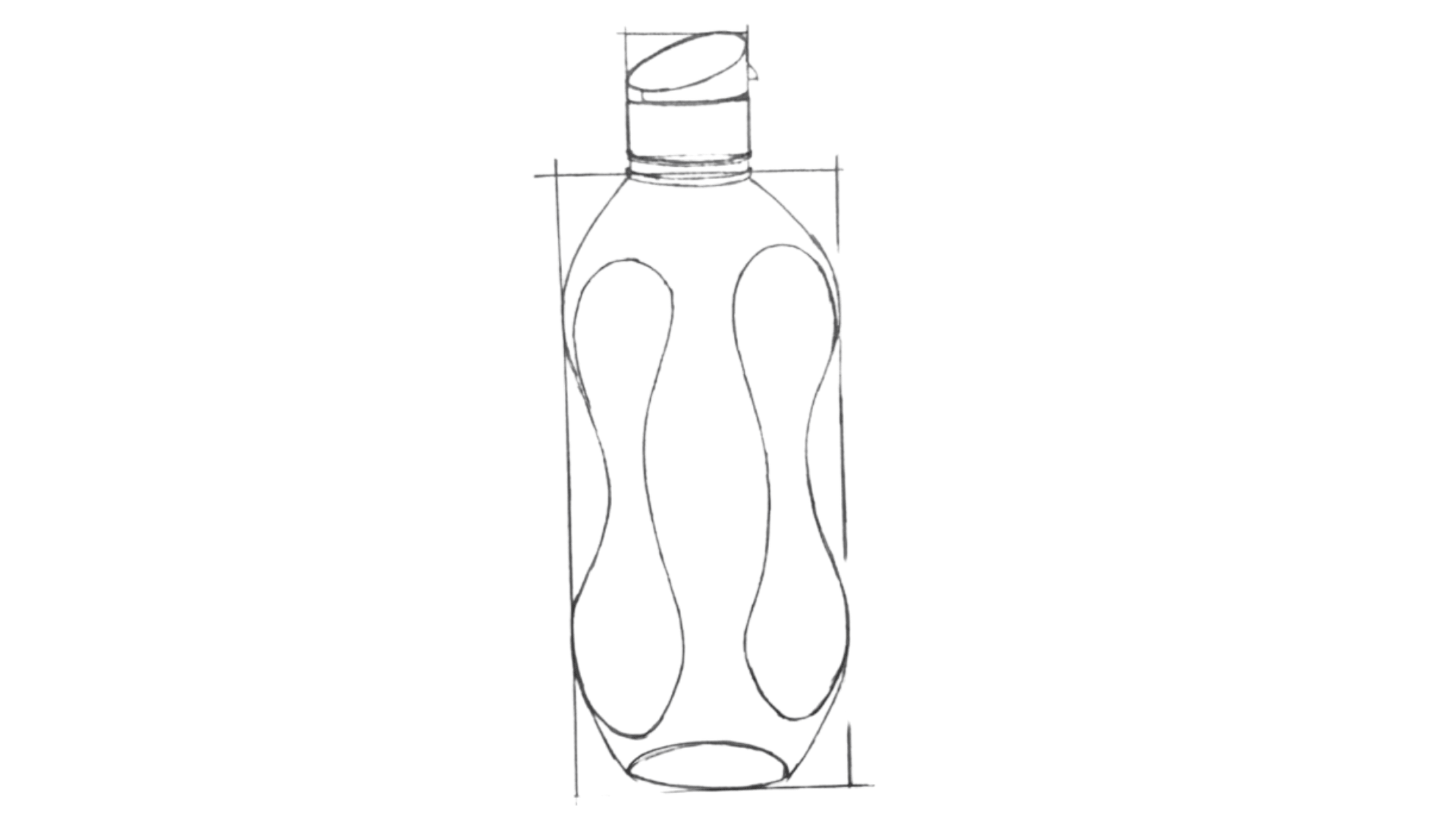 How To Draw a Bottle Step 4