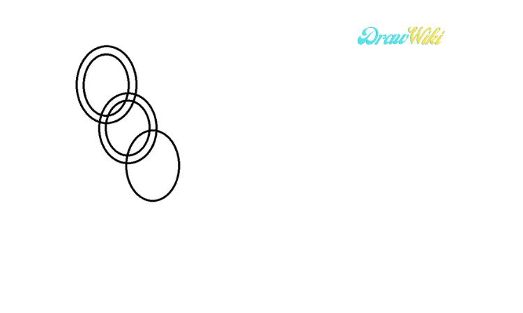Circular Chain Drawing step 4