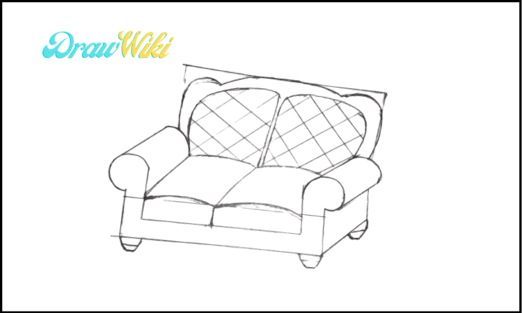 3rd Design Couch Drawing step 4