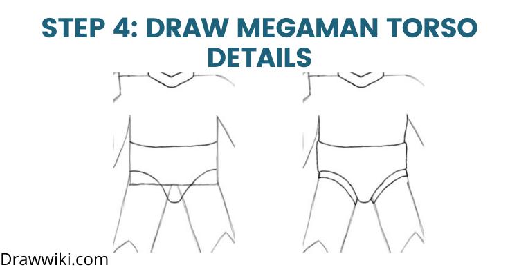 Step 4: Draw Torso Details