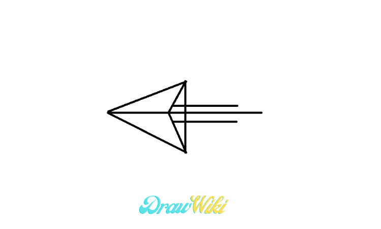 pointing Arrow drawing step 5