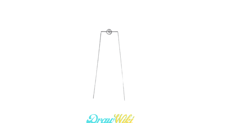 How To Draw a Windmill Step 3