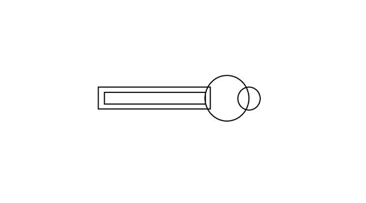 How To Draw a Key step 4