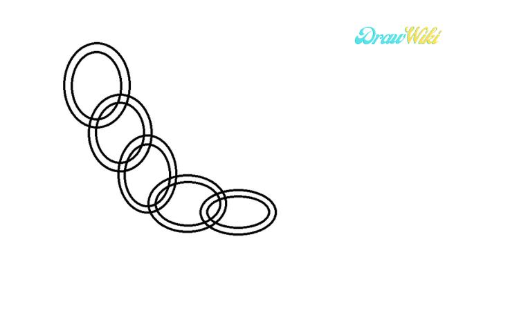 Circular Chain Drawing step 5