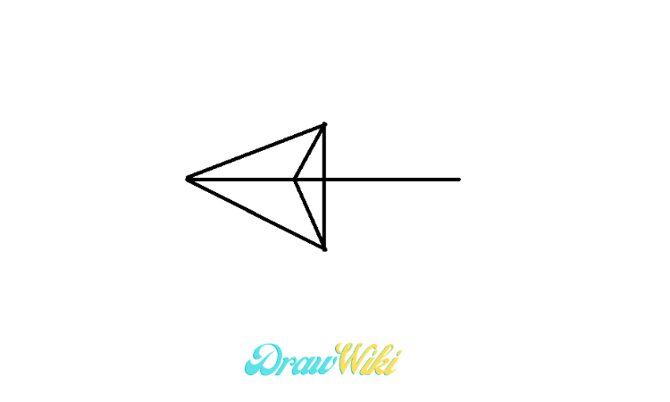 pointing Arrow drawing step 4