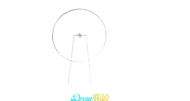 How To Draw a Windmill Step 4