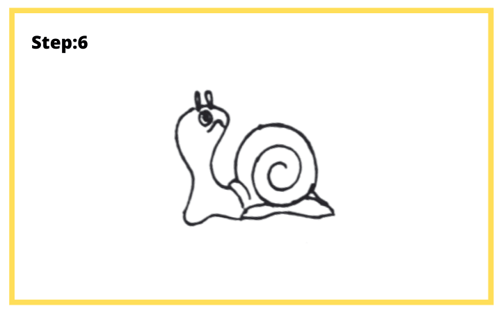 how to draw a shell step 6