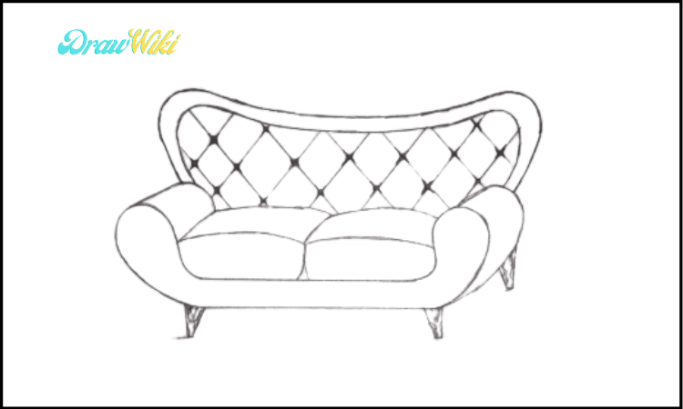 Couch Drawing final step