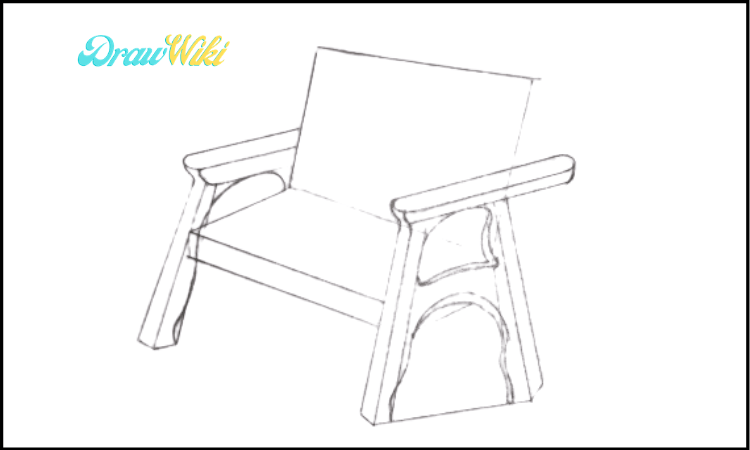 How to Draw a Couch Step 6