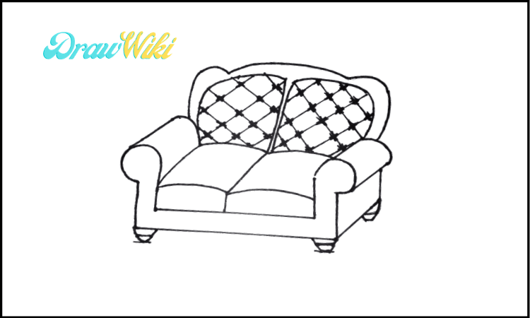 3rd Design Couch Drawing step 6