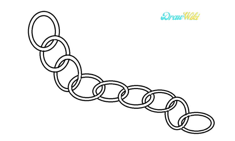 Circular Chain Drawing step 6