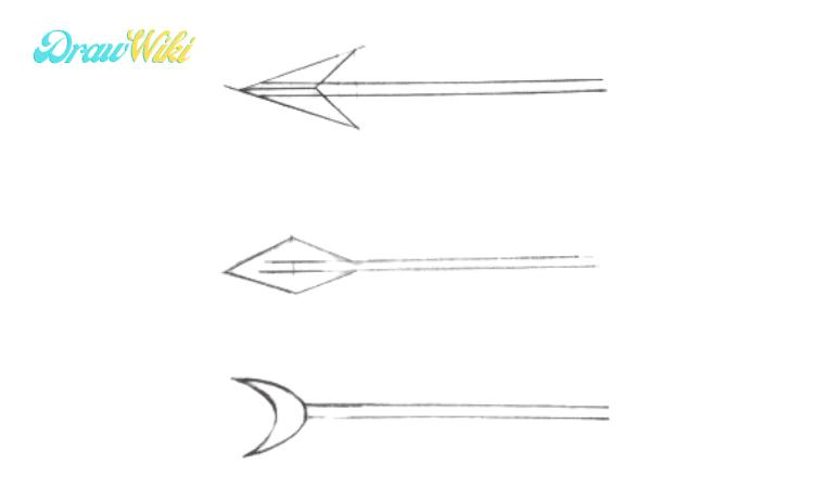 How to Draw an Arrow step 4