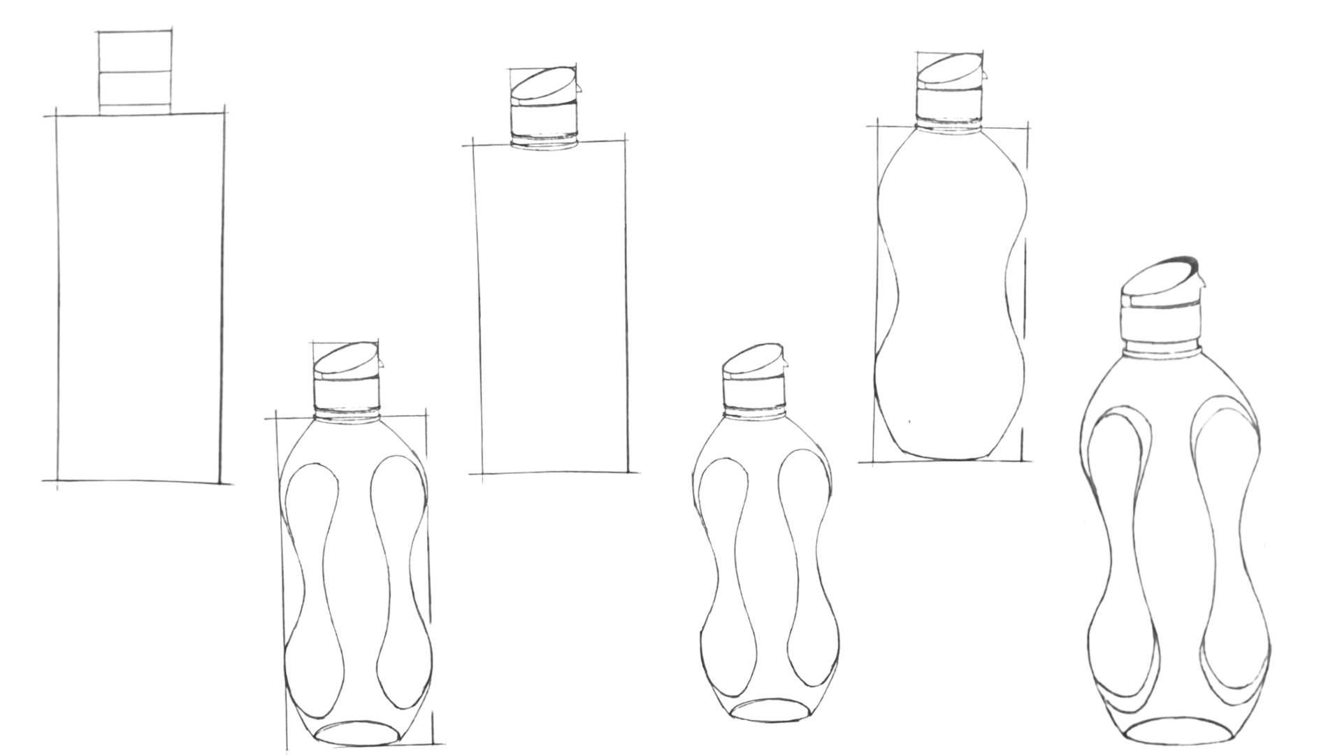 How To Draw a Bottle Step by Step