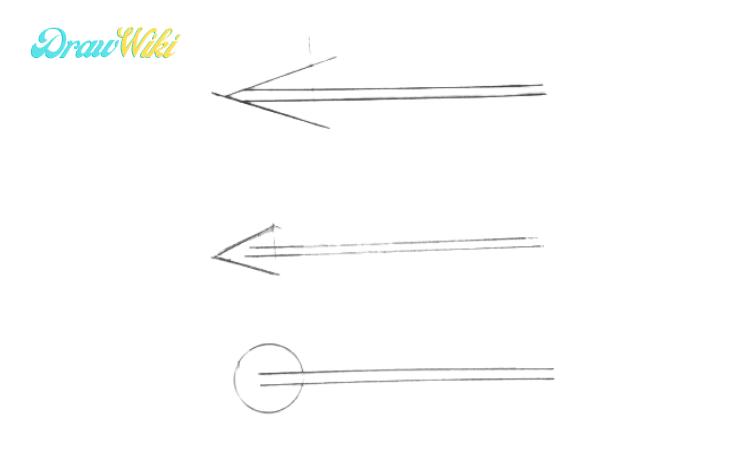 How to Draw an Arrow step 3