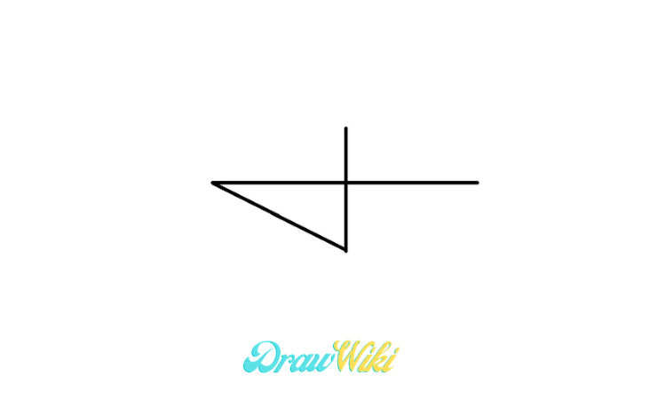 pointing Arrow drawing step 2