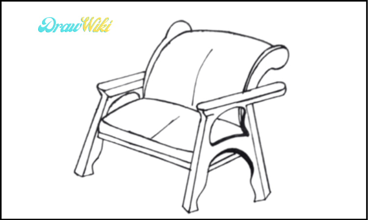 How to Draw a Couch Step 8