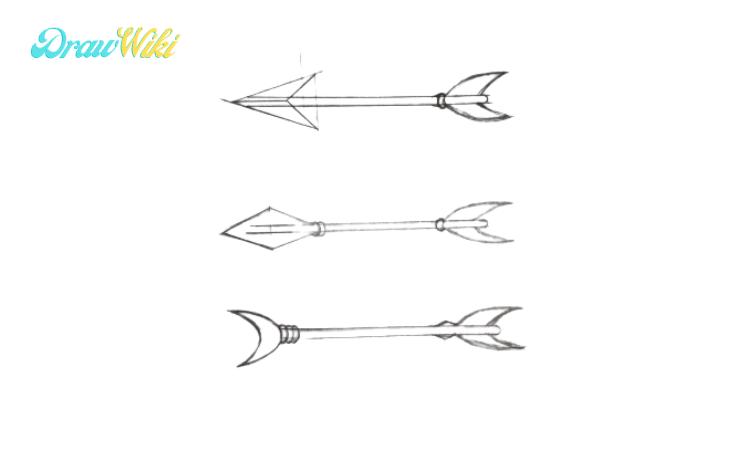 How to Draw an Arrow step 6