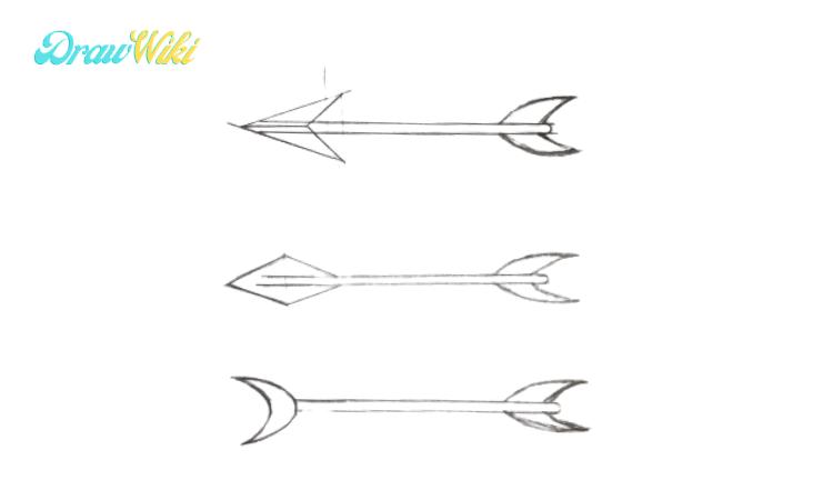 How to Draw an Arrow step 5