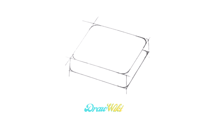 How To Draw A Lock step 4
