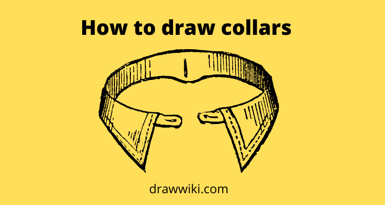 How to draw collars Step by Step