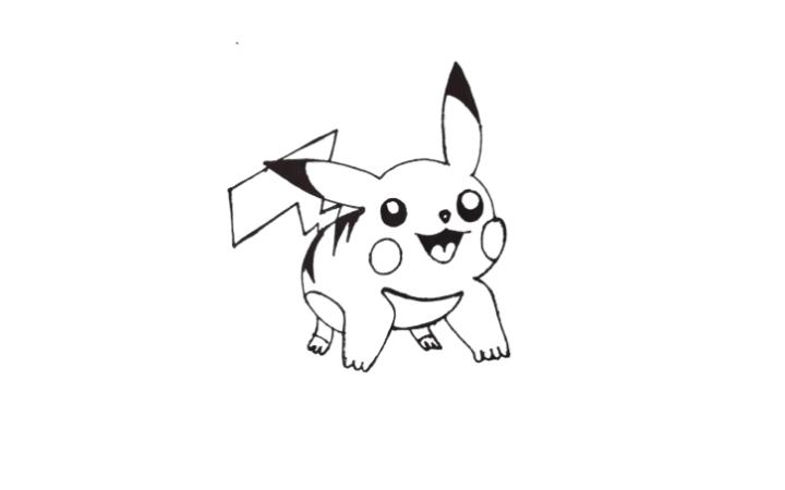 Draw Pikachu Pokemon