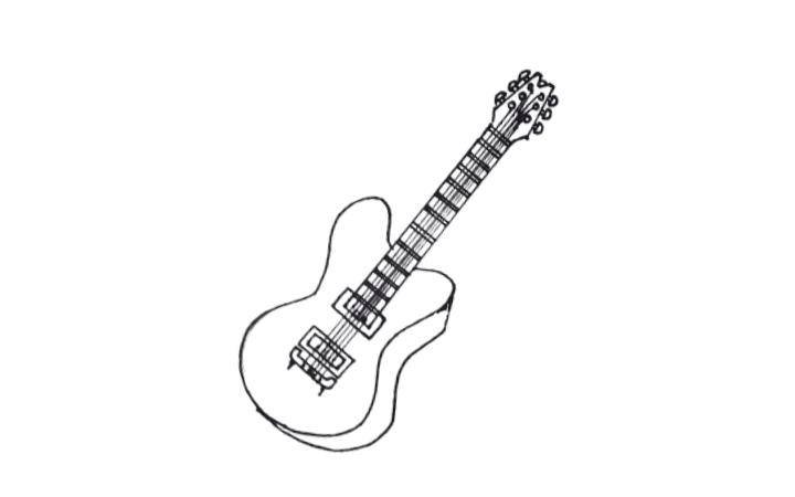 Draw a Guitar