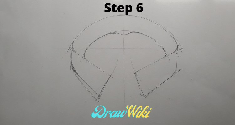 how to draw shirt collars steps