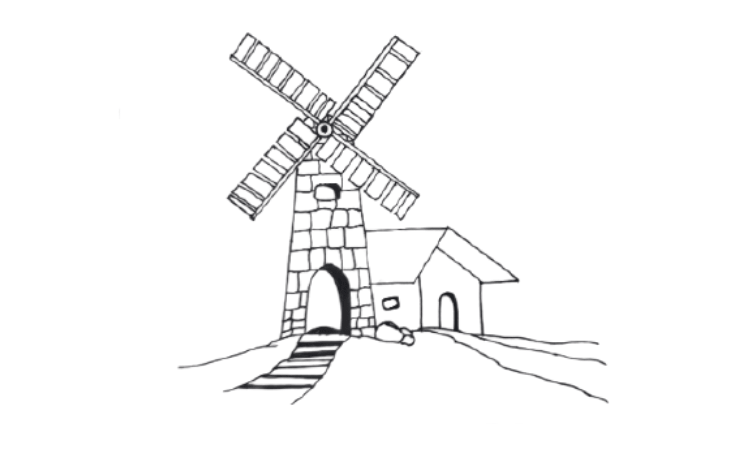 How To Draw a Windmill In 7+ Easy Steps