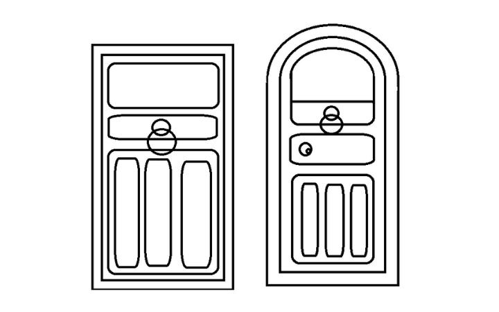 How To Draw A Door