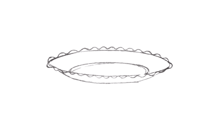 How To Draw a Plate Super Easy Beginner Guides