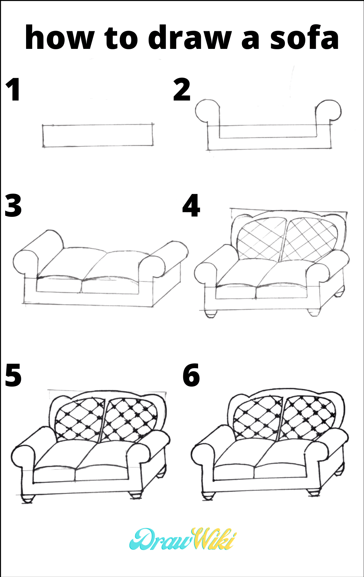 3rd Design Couch Drawing