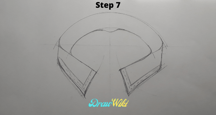 how to draw shirt collars steps7